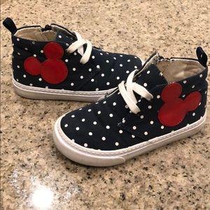 Baby Gap Disney Demin Hightop Sneakers